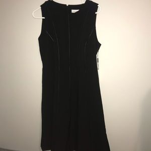 NWT Calvin Klein black dress!!
